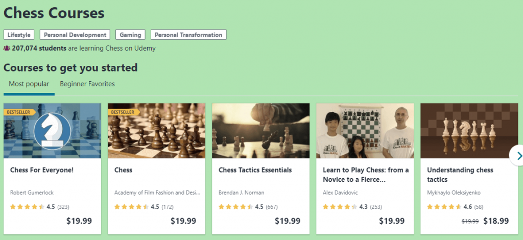 Chess Video Lessons