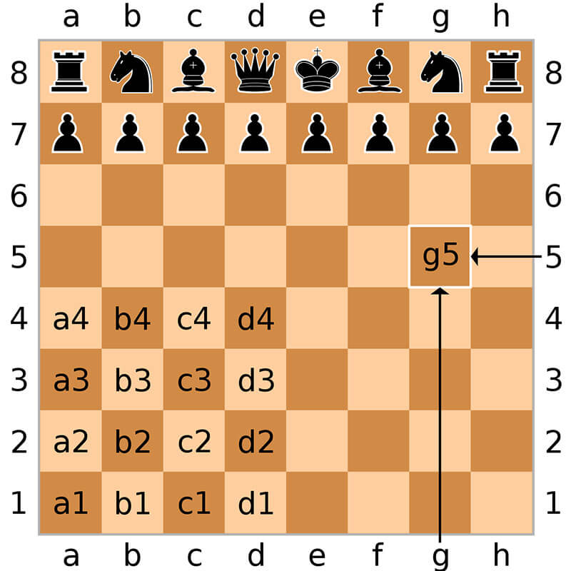 Chessboard Notation