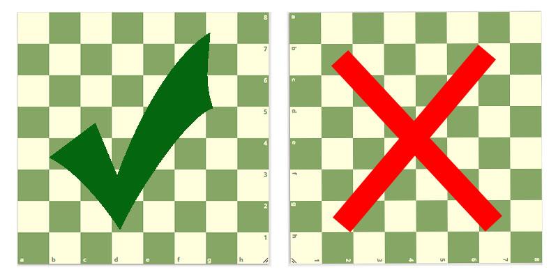 Chessboard Correct Position